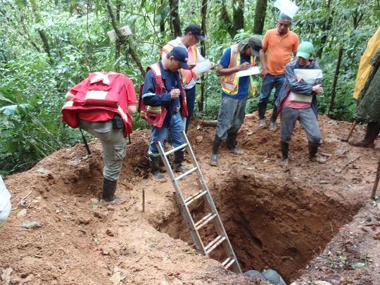 Soil training mynah exploration inc for Soil exploration